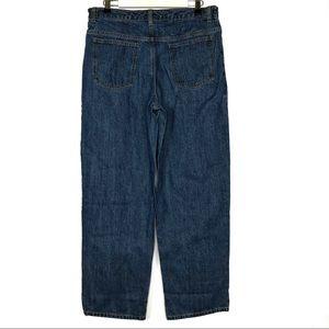 Lands End Jeans Denim Men Boy Pant 18H 18 Husky